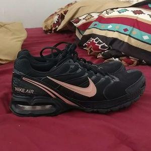 Womens Nike Air Max Rose Gold and Black